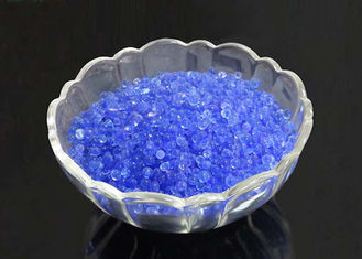 China Industrial  Blue Indicating Silica Gel Good Thermal Stability Anti - Moisture supplier
